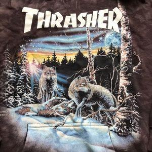 dbb9d1202fa7 Thrasher Shirts - Thrasher X The Mountain Hoodie